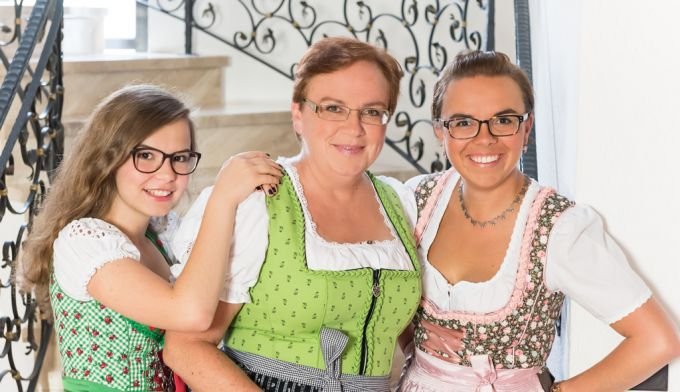 Brigitte Gumberger & Töchter
